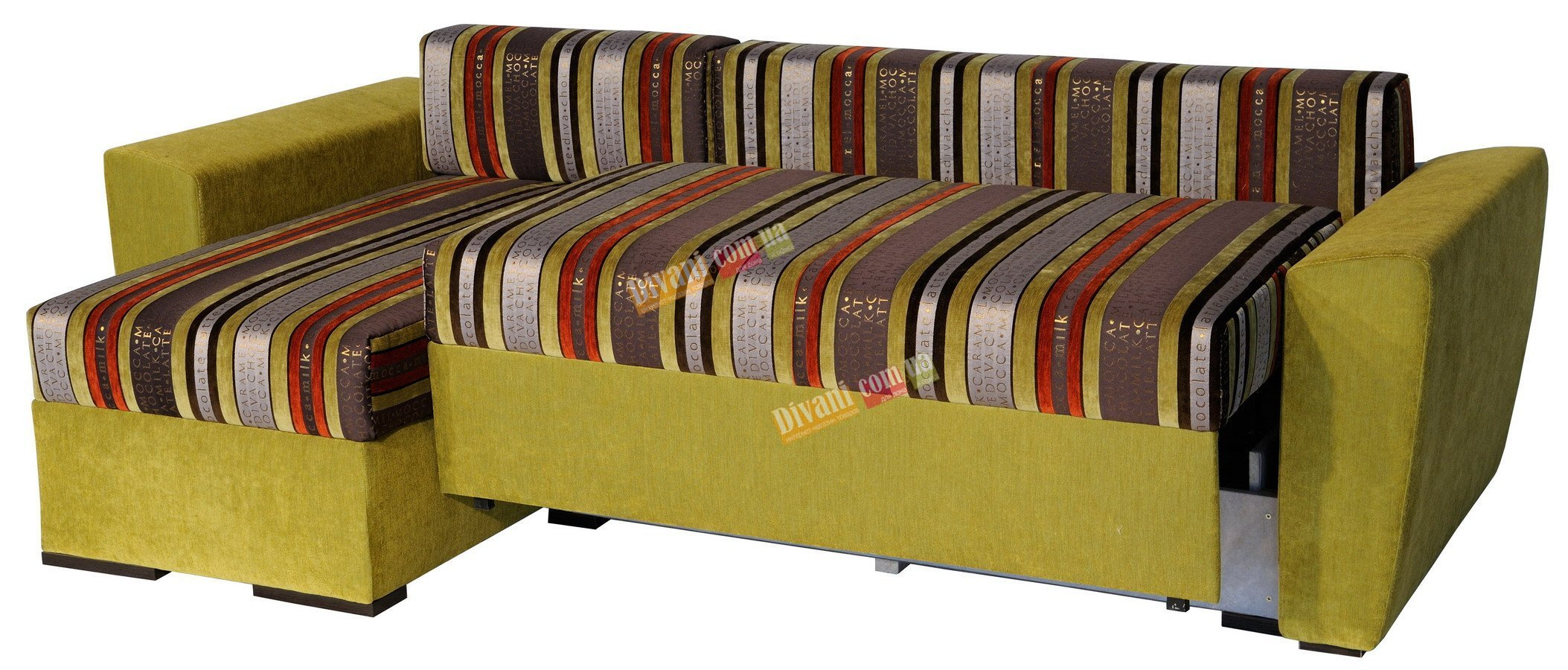 Угловой диван -кровать Arena Polo 22 LUX c кокосовой койрой