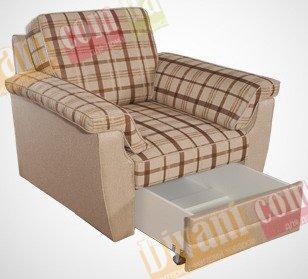 Кресло Сонет c пеналом