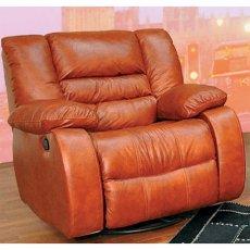 Кожаное кресло Чикаго (Механический реклайнер)