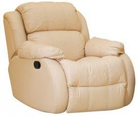 Кожаное кресло Шахерезада (Механический реклайнер)