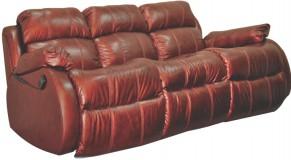 Кожаный диван Шахерезада со спальным местом