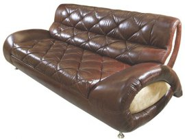 Кожаный диван Шанхай