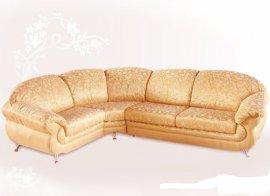 Кожаный угловой диван Орхидея - 305x305 см