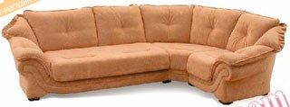 Кожаный угловой диван Лаура