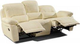 Кожаный диван Arizona 200-39 с двумя реклайнерами