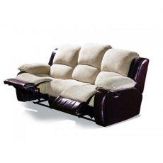 Кожаный диван Louisiana 800-39e с двумя электрическими реклайнерами