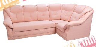 Кожаный угловой диван Версаль 2,50х2,70(1,40)
