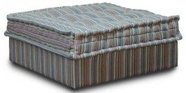 Пуф к кожаному модульному дивану Китч