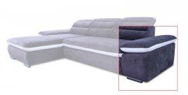 Модуль 7,8 к кожаному модульному дивану Оливер