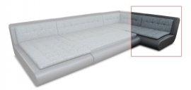 Модуль 11,12 к кожаному дивану Эрсте