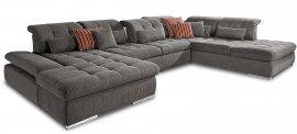 Кожаный модульный диван Орегон