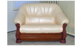 Кожаный диван Монарх 2,5