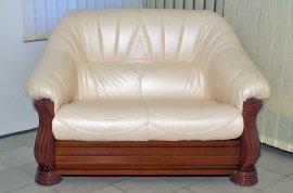 Кожаный диван Монарх 2