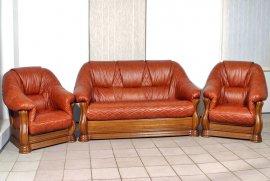 Кожаный диван Маркиз 2,5н