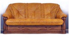 Кожаный диван Цезарь 2н