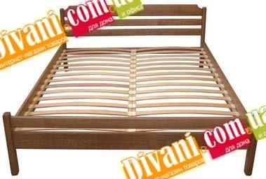 Кровать Натали - 190-200x80см - Дуб(массив)
