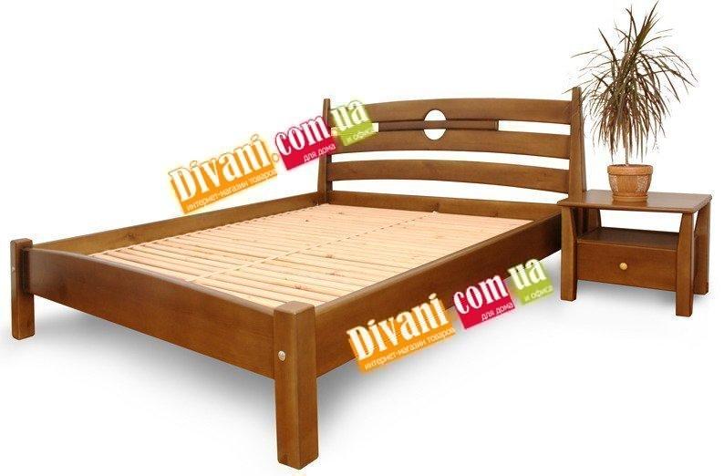 Кровать Лиза - 190-200x180см - Дуб(массив)