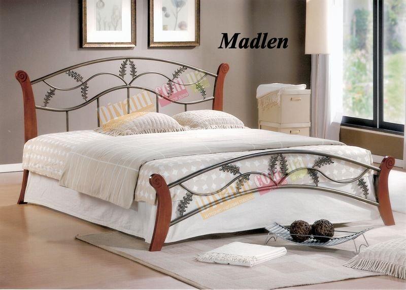 Кровать Onder Metal Metal&Wood Madlen 200x160см