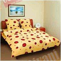 Двухспальный комплект постельного белья Божья коровка -586