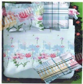 Двухспальный комплект постельного белья Виолетта -729