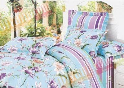 Двухспальный комплект постельного белья Снежана -732