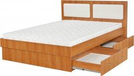 Двуспальная кровать Комфорт - 180x200см c механизмом