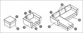 Угловой диван-кровать Arena Polo 22