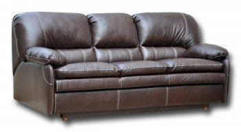 Кожаный диван Чирз 3Р 1.4