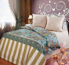 Евро комплект постельного белья Луиза