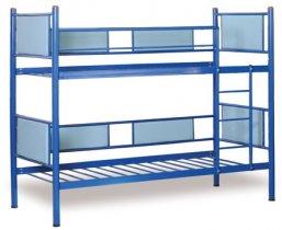 Двухъярусная металлическая кровать Трансформер 80х190