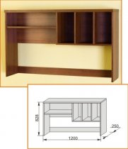 Надставка стола Модена