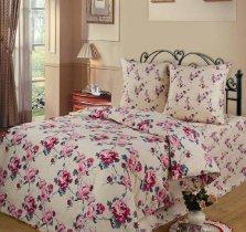 Двухспальный комплект постельного белья Розовые грезы