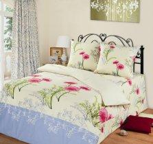 Двухспальный комплект постельного белья Шанталь