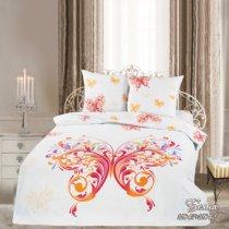 Двухспальный комплект постельного белья панно Белла