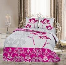 Двухспальный комплект постельного белья панно Шарлота
