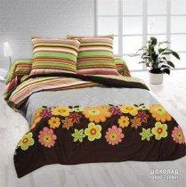 Двухспальный комплект постельного белья Шоколад
