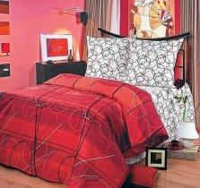 Полуторный комплект постельного белья Руж