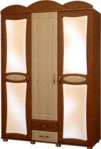 Шкаф трехдверный Миллениум 2