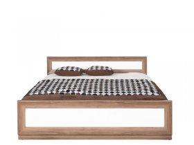 Кровать PLOZ 160 (каркас)-SIB ЛАРГО