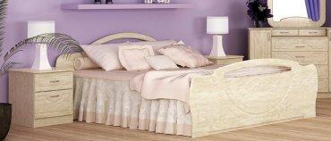 Кровать 1400 Антария Лак