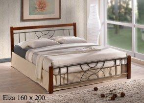 Кровать Onder Metal Metal&Wood Elza 200x160см