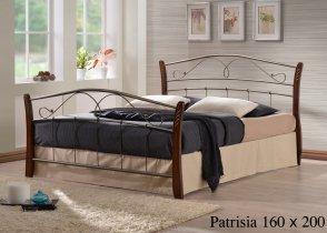 Кровать Onder Metal Metal&Wood Patrisiya 200x160см