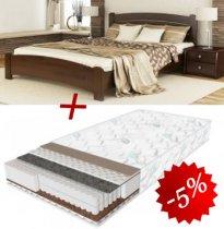 Комплект кровать Венеция Люкс + матрас Daily 2in1 180см