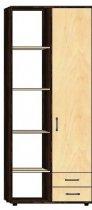 Шкаф-стеллаж 1Д/2Ш «Классик»