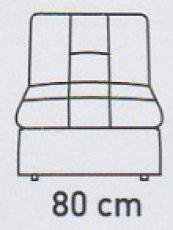 Модуль №4 к кожаному модульному дивану Мегапол