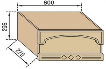 Панель над вытяжкой В60ФПФ Валенсия