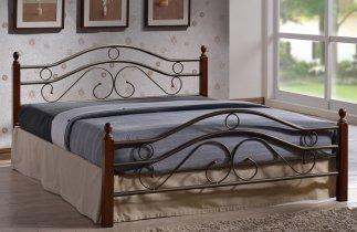 Кровать Onder Metal Metal&Wood Judi (Джуди) 200x180см