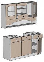 Модуль РТ 1500 (цс) кухни Ретро