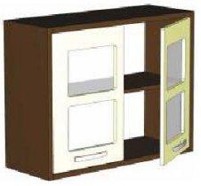Модуль АВ 801 витрина кухни Арабика