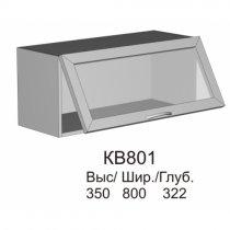 Витрина верхняя МДФ КВ 801 кухни Колибри